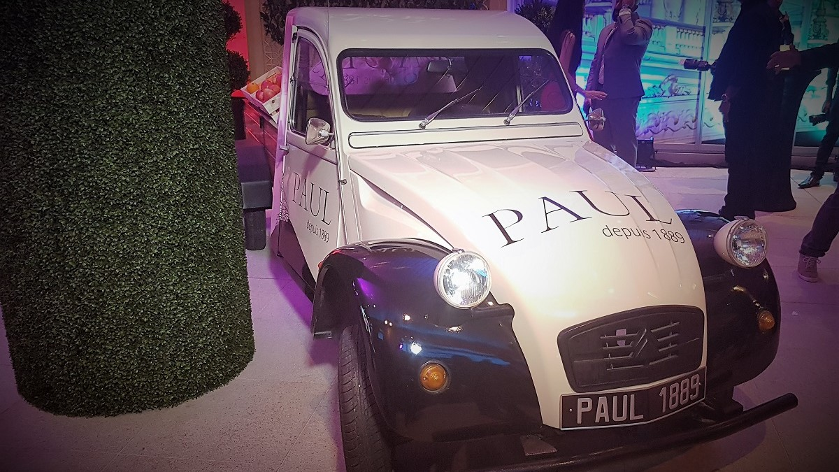 Paul depuis 1889 - The Dubai Mall Re-Opening - Truck Front
