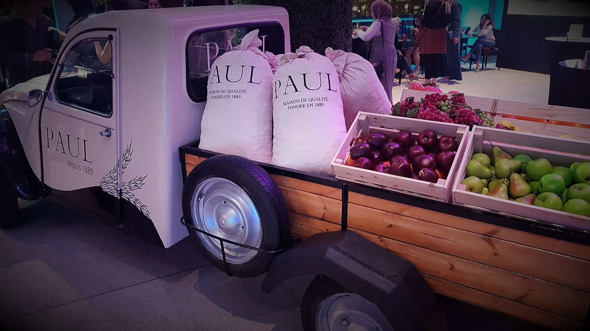 Paul depuis 1889 - The Dubai Mall Re-Opening - Truck Side