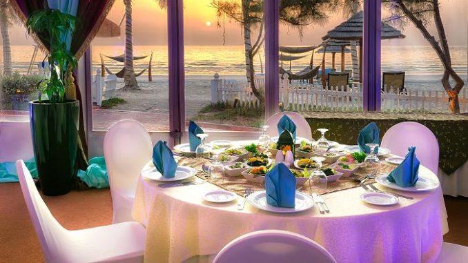 Kempinski Hotel Ajman - Ramadan Tent - Sunset