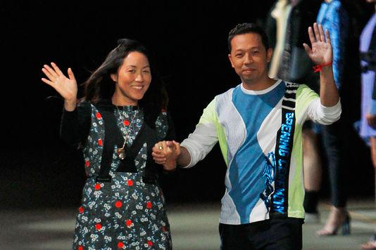 Kenzo Creative Directors - Carol Lim and Humberto Leon