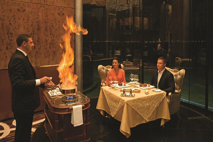 Prime fine-dining steakhouse - The Meydan Hotel