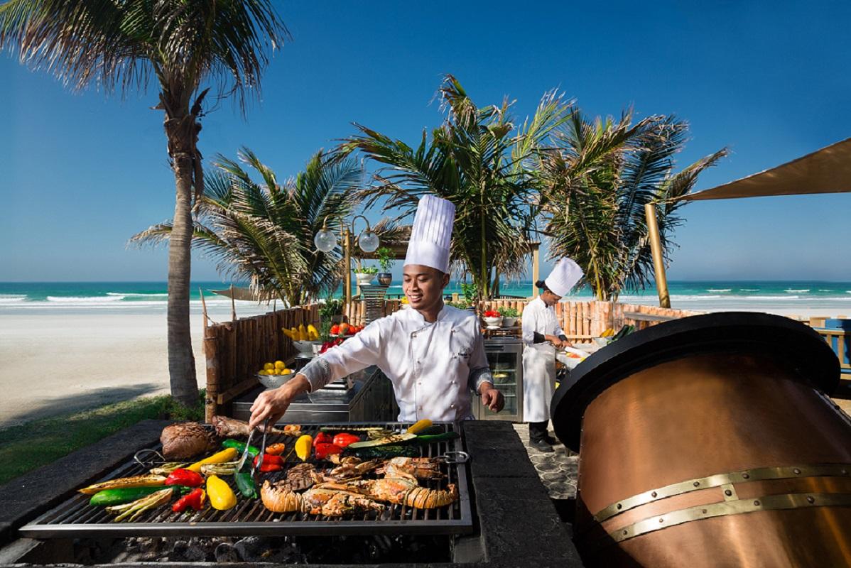 Zanzi Bar Barbecue - Kempinski Hotel Ajman