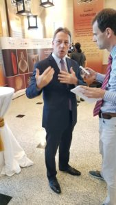 UAE Archaeological Treasures Exhibition - French Ambassador