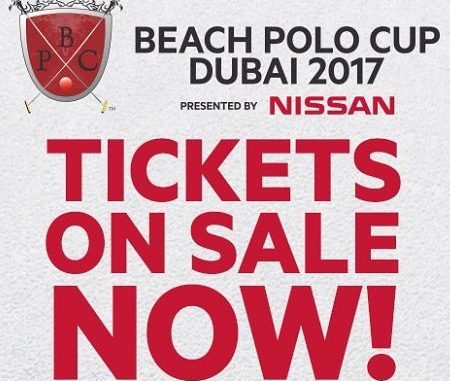 Beach Polo Cup Dubai 2017 - Tickets on Sale Now