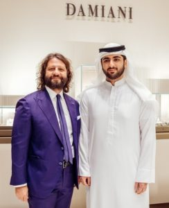 Damiani Boutique Inauguration - Mr Guido Damiani and HH Sheikh Mohammad Al Maktoum