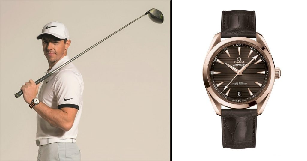 Omega Dubai Desert Classic - Winner's Watch & Rory Mcllroy (Brand Ambassador)