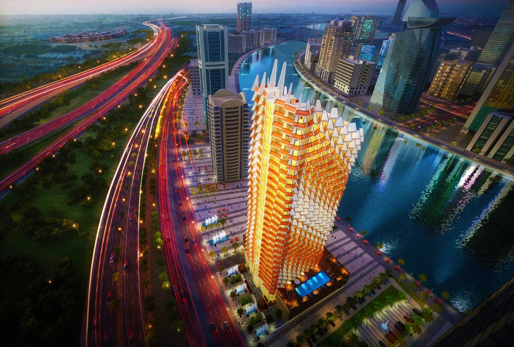 Millennium Binghatti Residences - Contemporary and Vibrant Architectural Style
