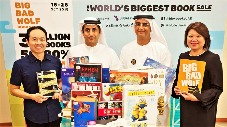 Big Bad Wolf Books Sale Dubai - The Wolf Pack