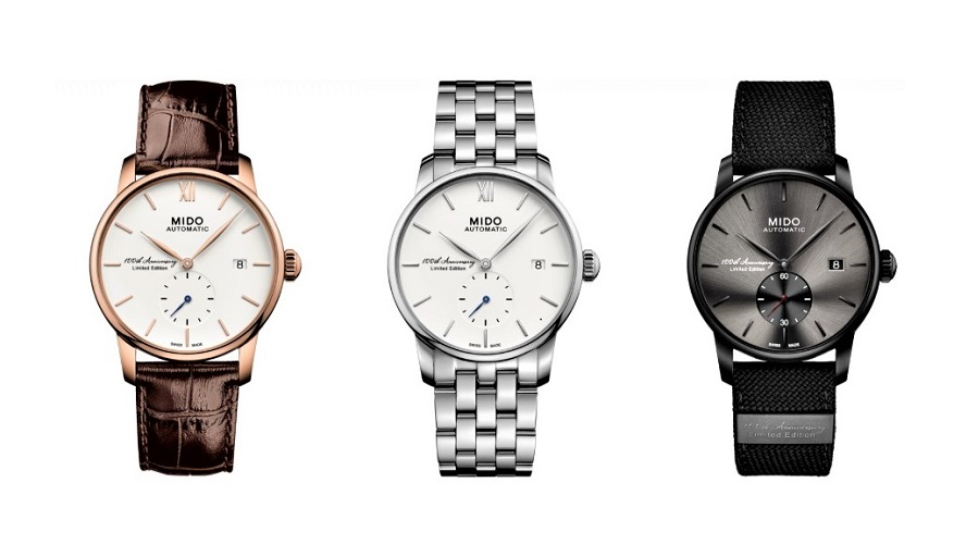 Swiss Watchmaker Mido - Baroncelli Trilogy - Limited Edition