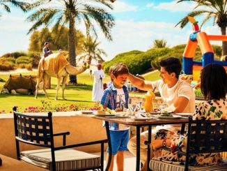 Garden Brunch Bab Al Shams Desert Resort & Spa