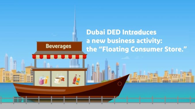 Dubai Floating Consumer Store - Dubai Economic Development