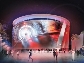 Pavilion USA 2020 Expo Dubai - Night Rendering