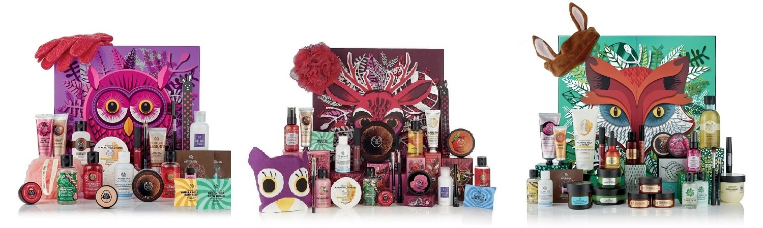 The Body Shop Christmas Collection 2018 - Advent Calendars