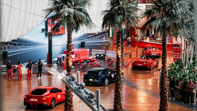 100 Ferraris - Ferrari World Abu Dhabi