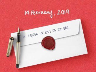 Expo 2020 Dubai Love Letter
