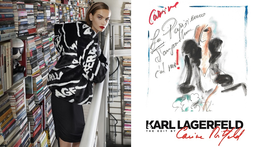 Karl Lagerfeld - The Edit by Carine Roitfeld