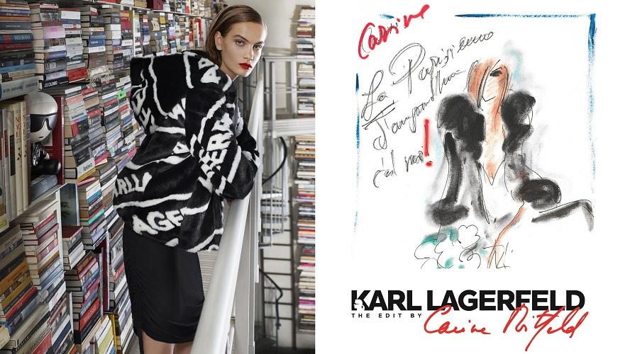 Karl Lagerfeld - The Edit by Carine Roitfeld