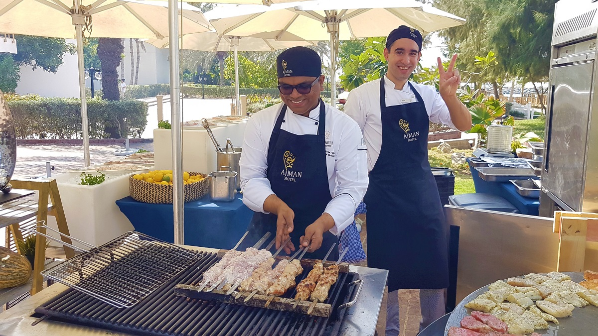 Ajman Hotel - Friday Garden Brunch - BBQ & Live Cooking (02)