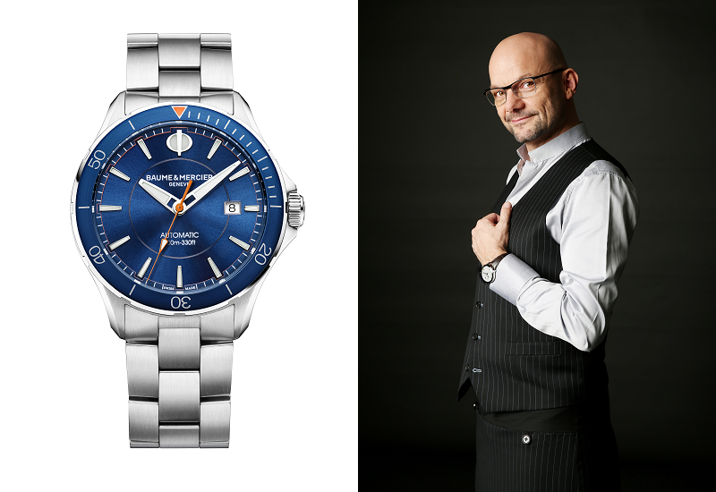 Baume & Mercier - Alexander Peraldi - Clifton Watches (01)