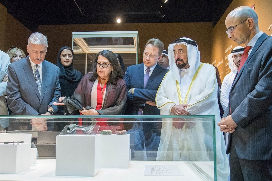 UAE Archaeological Exhibition - Inauguration Ceremony (1)